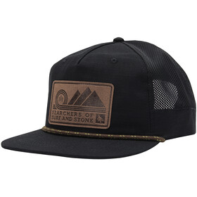 Hippy Tree Summit Casquette Homme, black
